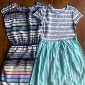 Two (2) GAP Girls' Kids dresses. Size 10.